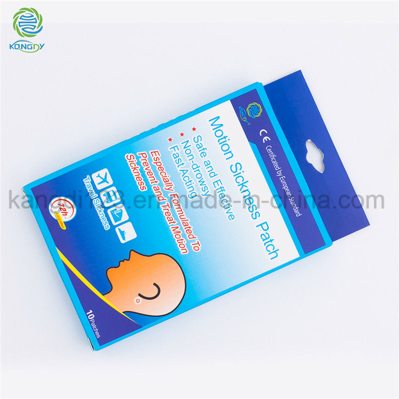 China New Motion Sickness Bracelet Anti Nausea Patch Ear Pain Relief -  China Patch Seasickness, Patch Dramamine