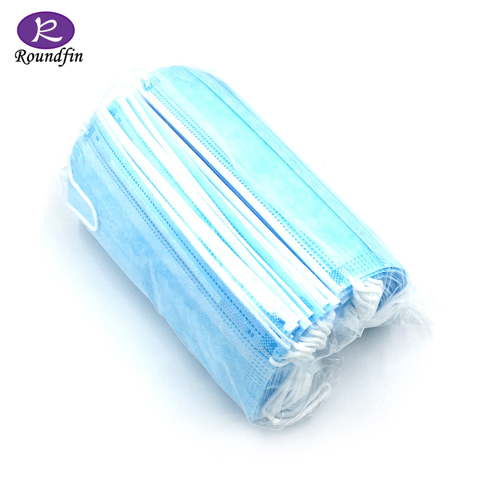 50pcs disposable earloop face mask