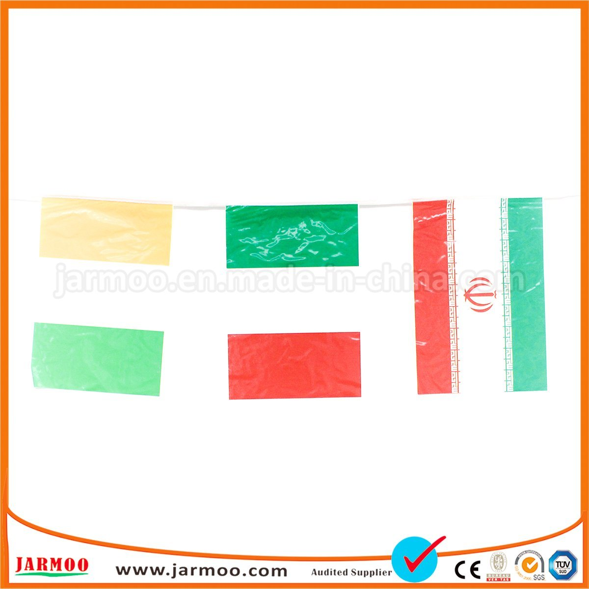 China Activity Used Bright Decorative Flags On String Photos