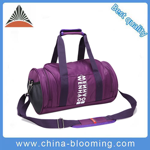 4f7f66db88de36 Purple Travel Gym Shoulder Leisure Outdoor Sports Fitness Duffle Bag