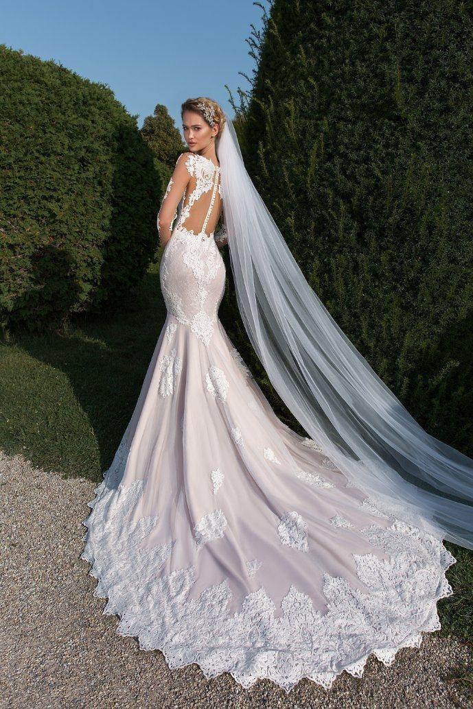 Sexy Backless Wedding Dress Mermaid