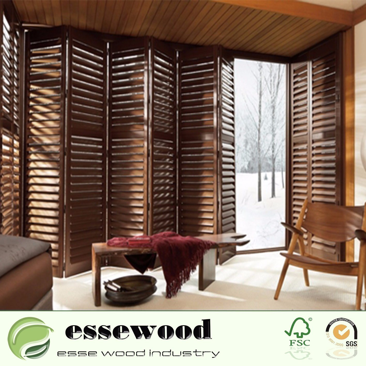 Best Wooden Arch Plantation Shutter