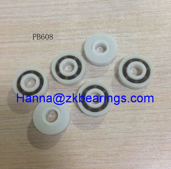 1 x  Plastic Bearing PP 608 Glass Balls 8*22*7mm  Ball Bearings Best  P0CA