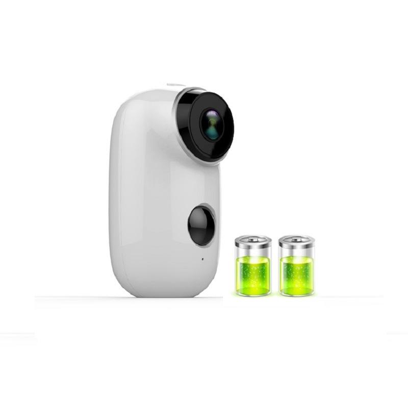 [Hot Item] Tuya Smart Battery Powered IP65 Waterproof Wire-Free Outdoor IP  Camera