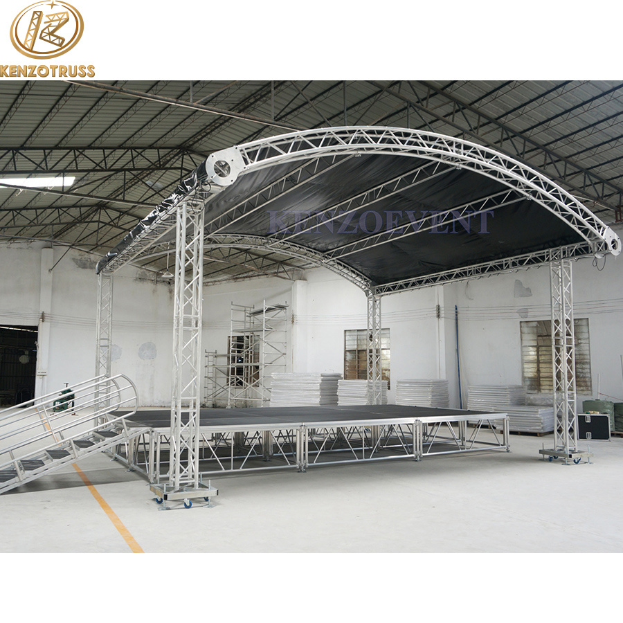 mobile odyssey x lighting kit of photo portable dj truss
