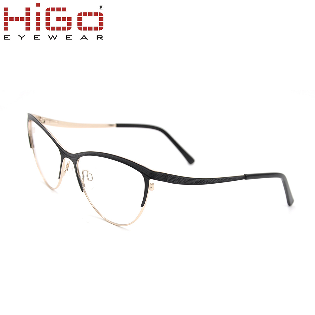 7c6b26bfe Cat Eye Stainless Steel Style Optical Frames China Manufacturers