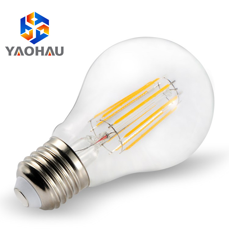 China Golden Edison 6w G95 Led Filament Bulb Amber Light Bulbs