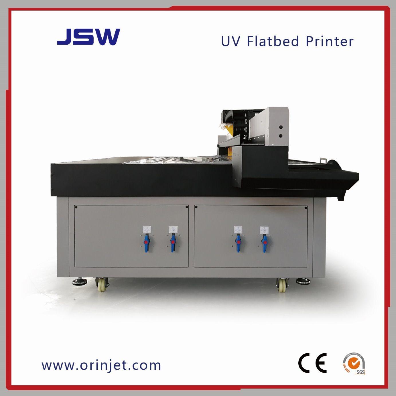 China Carpet UV Printer with LED UV Lamp & Ricoh Printheads