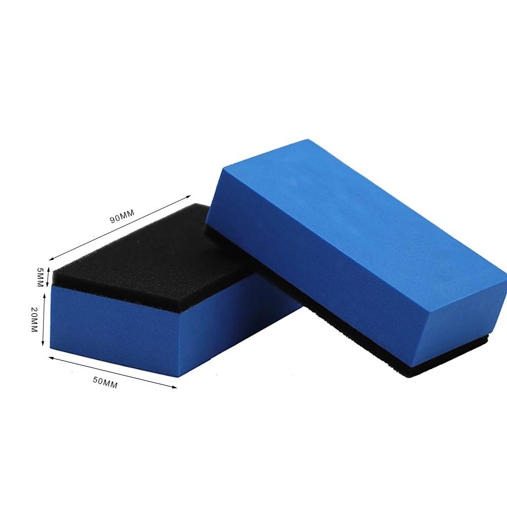 10x Polishing Pad EVA Sponge Car Ceramic Coating Glass Nano Wax Coat Applicator