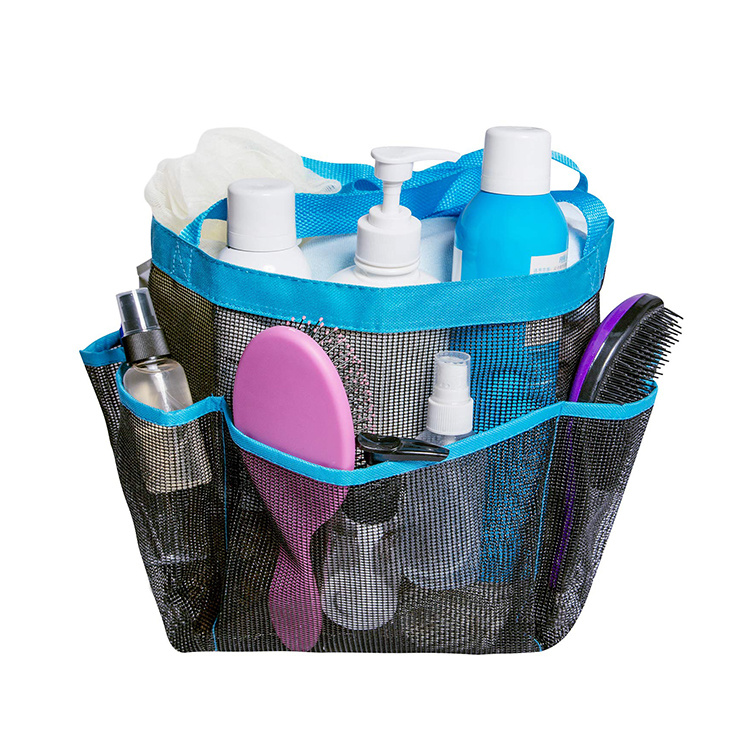 China Portable College Dorm Camping Gym Bathroom Mesh Shower Caddy