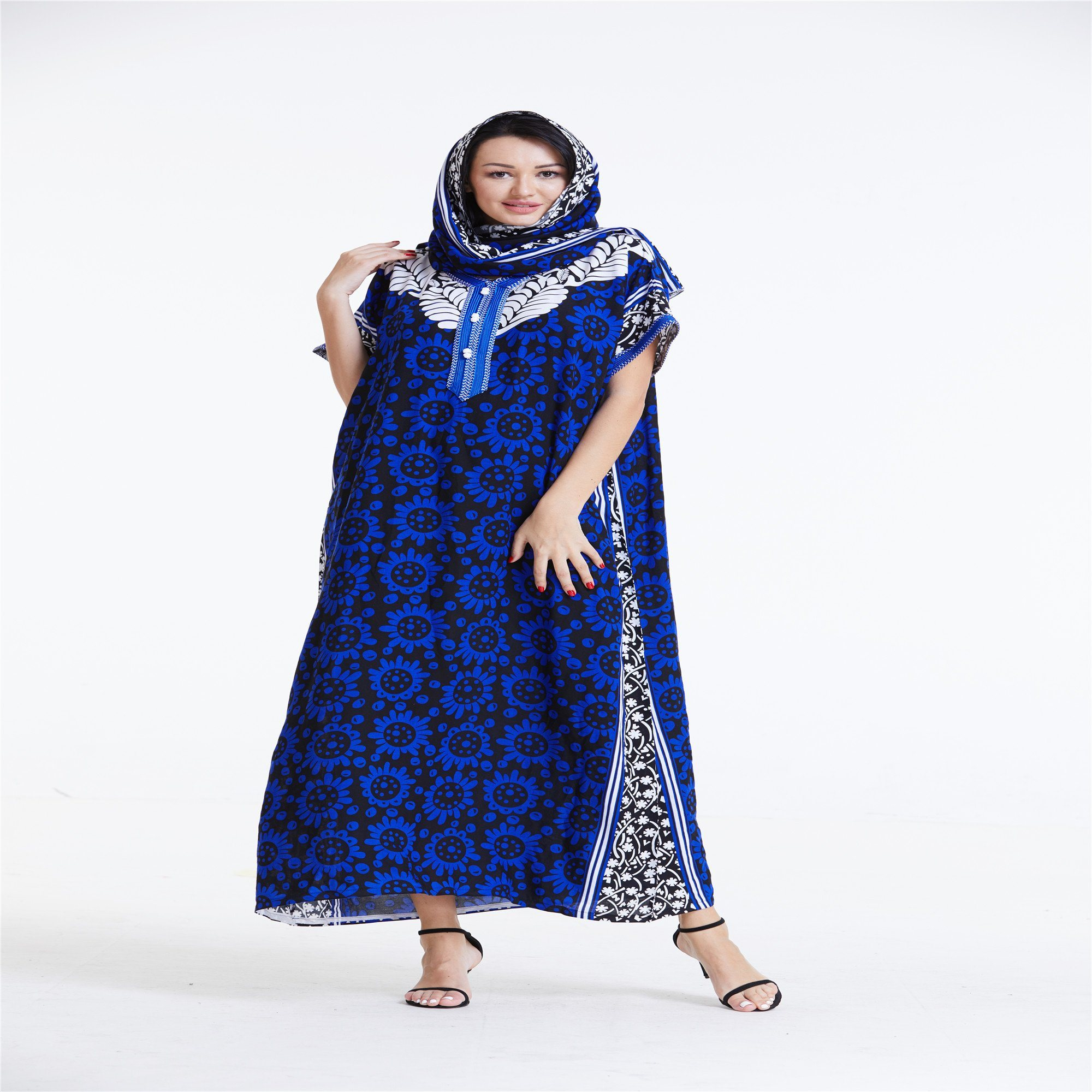 Latest African Wear For Women Kitenge Designs Plus Size Kaftan Dresses China Dresses And New Design Dress Price Made In China Com