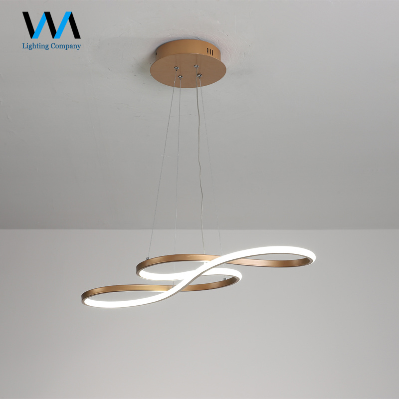Acrylic Led Dining Room Pendant Lights