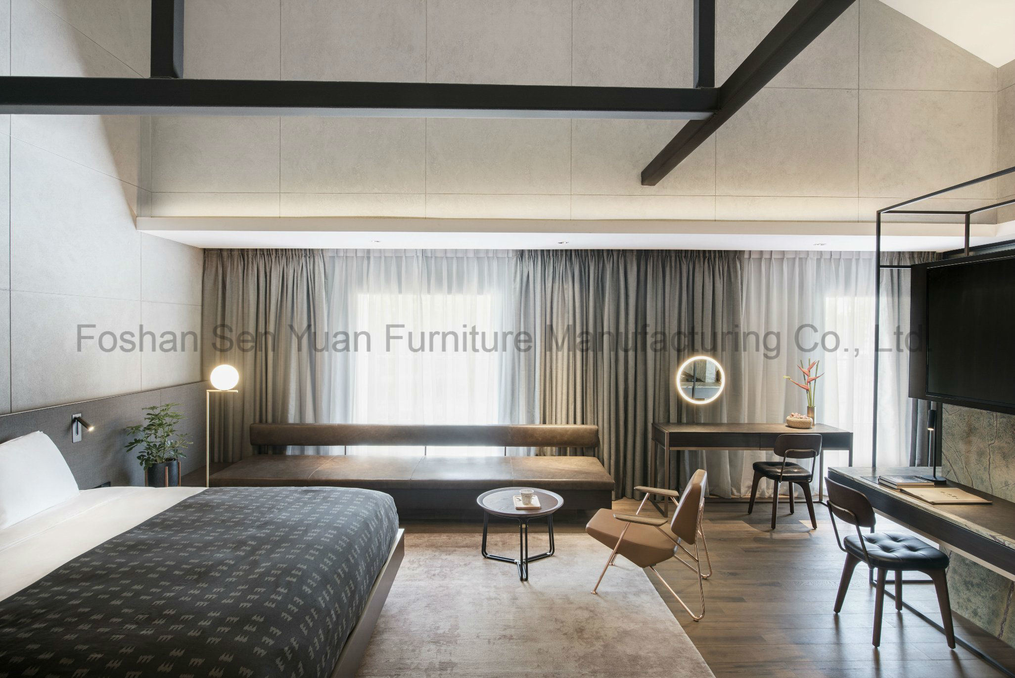 China Modern Style Bedroom Furniture Bedroom Sets The Hotel Wooden