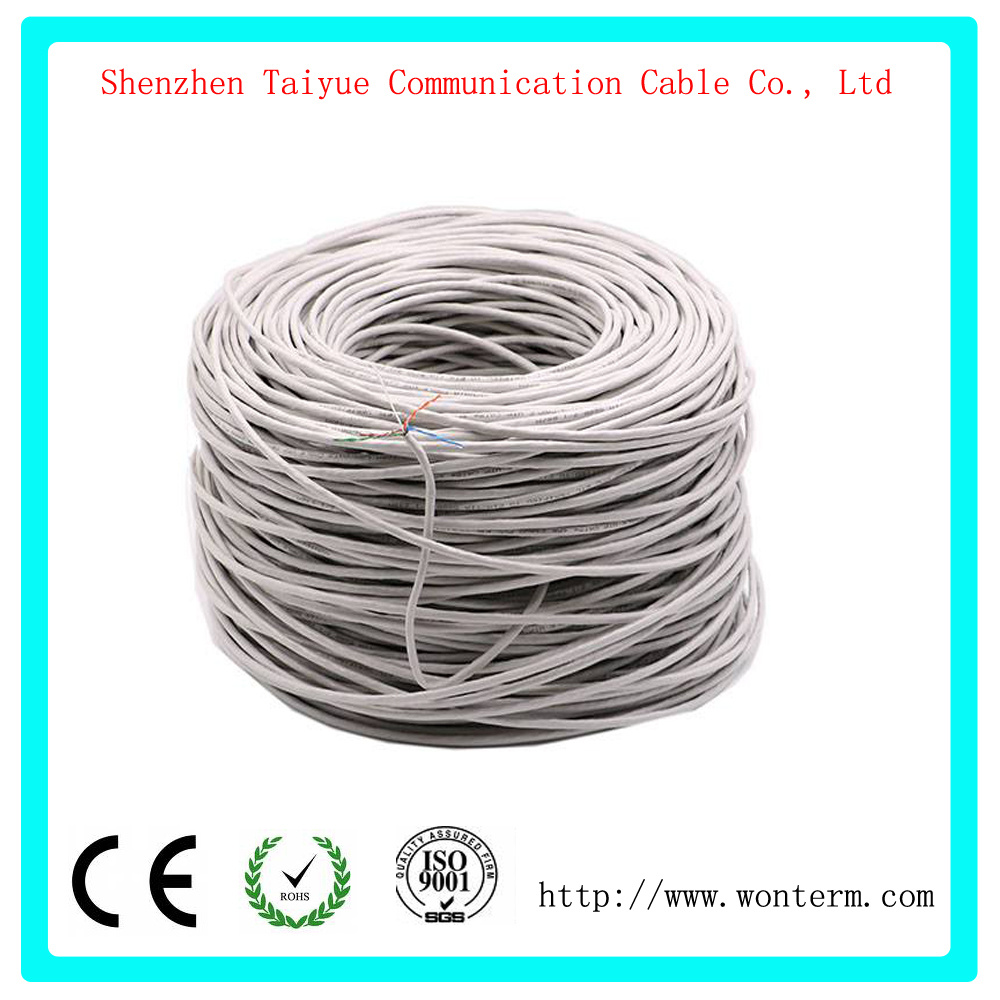 Surprising China Grey 1000Ft Bulk Cat6 Cca Ethernet Cable Wire Utp Pull Box Lan Wiring Cloud Hisonuggs Outletorg