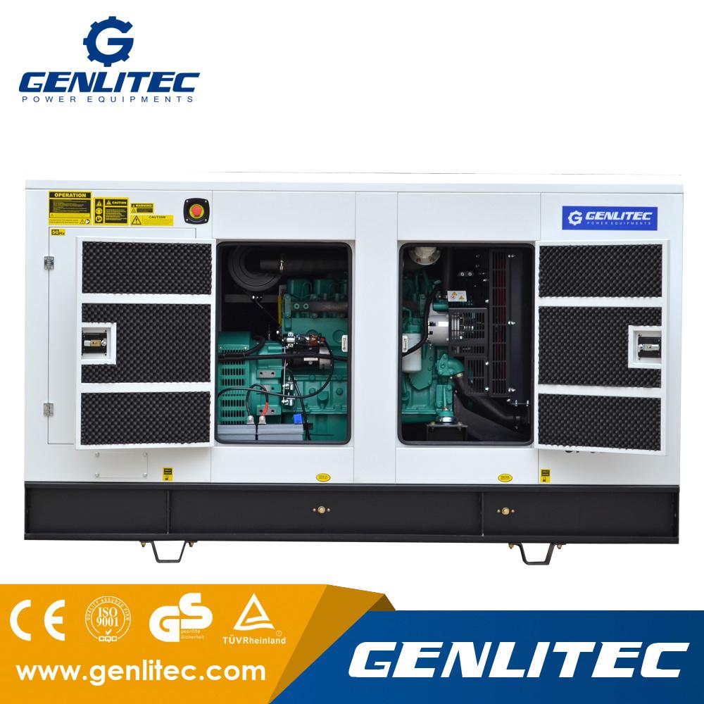 China 120kw 150kva Soundproof Cummins Diesel Generator Original Stamford Logo Generators