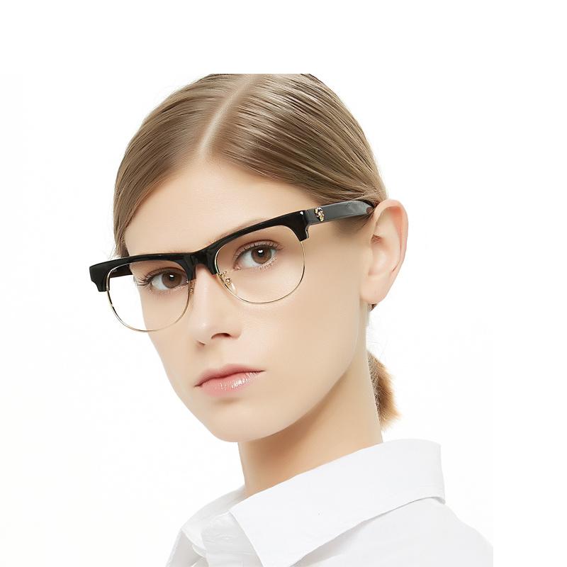 d7854dd94ef7 China 2019 New Trending Acetate Optical Black Eyeglasses Frames for ...