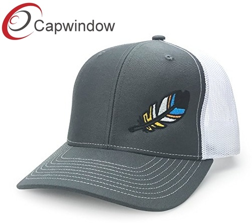 c15e90ec33733 Yupoong Baseball Cap Trucker Hat with Customized Flat Embroidery Snap Back