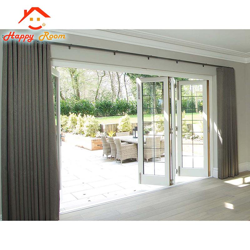China Fashionable Design Aluminumaluminium French Door Exterior
