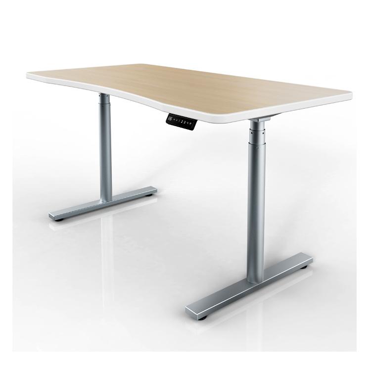 Miraculous Hot Item Electric Lifting Column Office Desks Standing Desk Adjustable Table Download Free Architecture Designs Licukmadebymaigaardcom