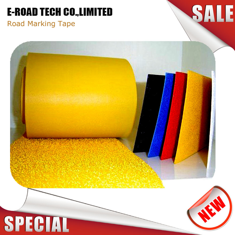 Made in china reflective road marking tape with 3m waterproof sticker china thermoplastic tape reflective pavement tape
