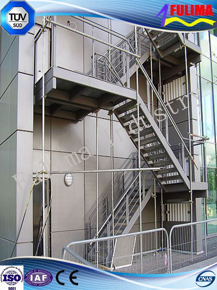 China Outdoor Steel Staircase/Platform/Stairs   China Staircase, Steel  Platform
