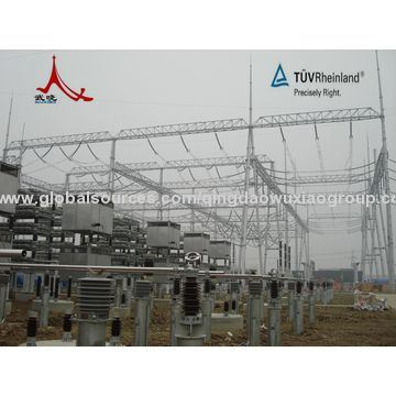 110 Kv Steel Power Substation Structure