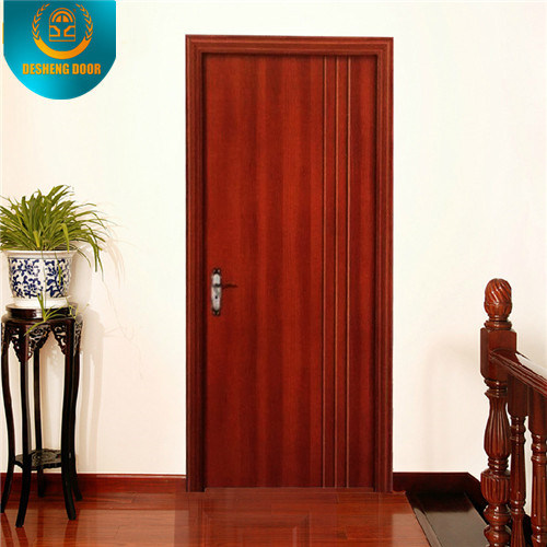 Modern Style Solid Wood Door for Hotel Apartment or School (DS-023)