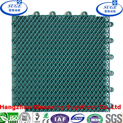Water Drainage Outdoor Interlocking Suspended Tennis Flooring Tile pictures & photos
