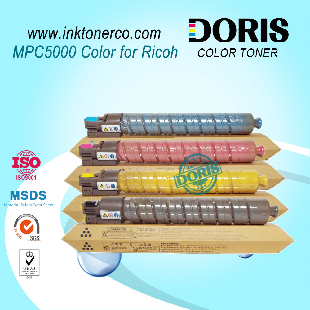 Japan Tomoegawa Quality Color Copier Toner Cartridge Mpc4000 Mpc5000 for Ricoh Aficio