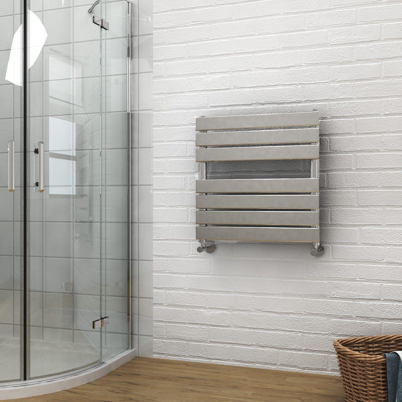 Modern Chrome Heated Bathroom Vertical Radiator Towel Rail Towel Ladder