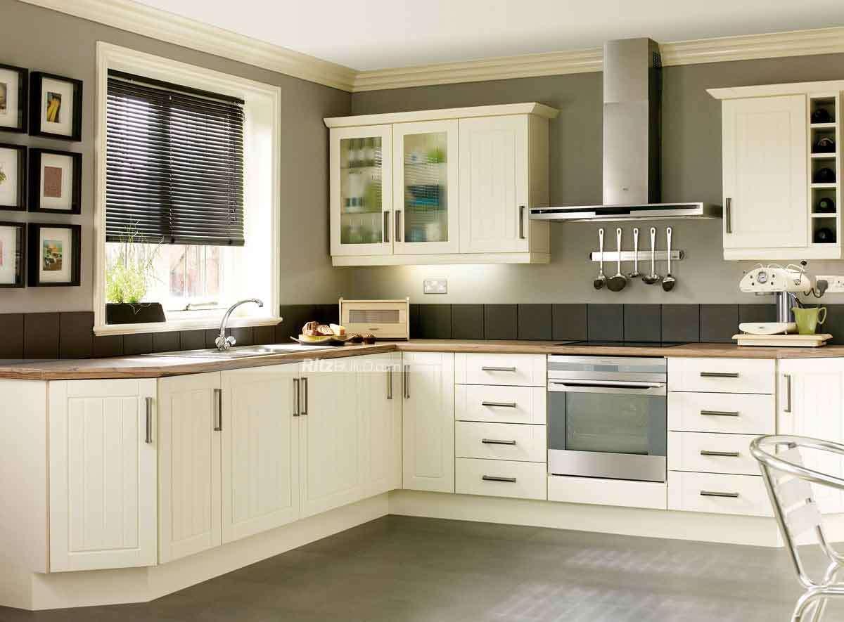 China White PVC MDF Kitchen Cabinet - China Kitchen Cabinet, Furniture