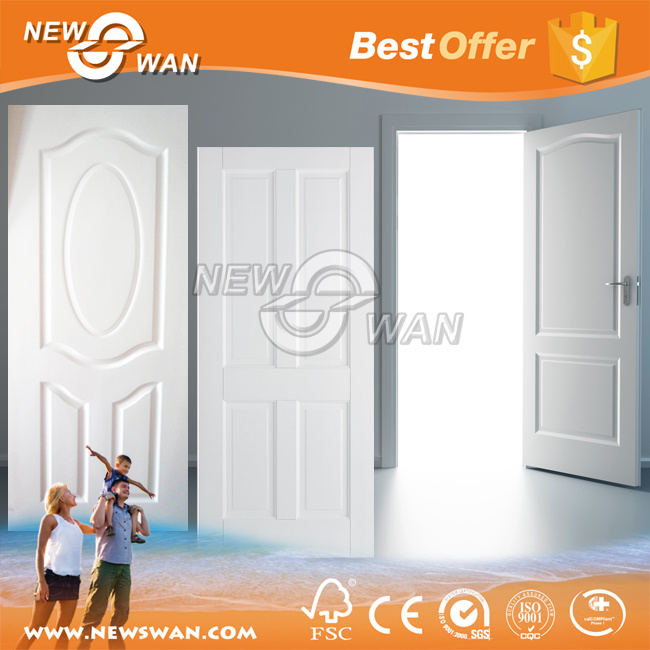 China Wood Grain White Primed Door Skin / HDF Wooden Door - China White Door White Door Skin  sc 1 st  Shanghai Newswan International Trading Co. Ltd. & China Wood Grain White Primed Door Skin / HDF Wooden Door - China ...
