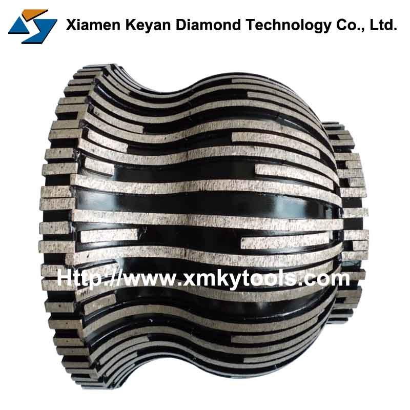 China Sintering Diamond Grinding Profile Wheel For Granite Marble
