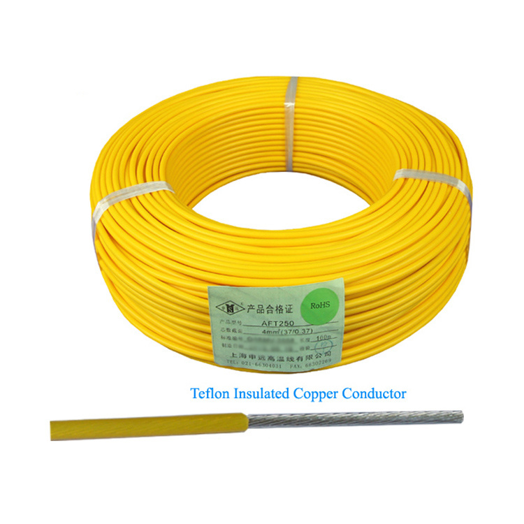 China Heat Resistant Hookup Lead PTFE Wire for Equipment - China ...