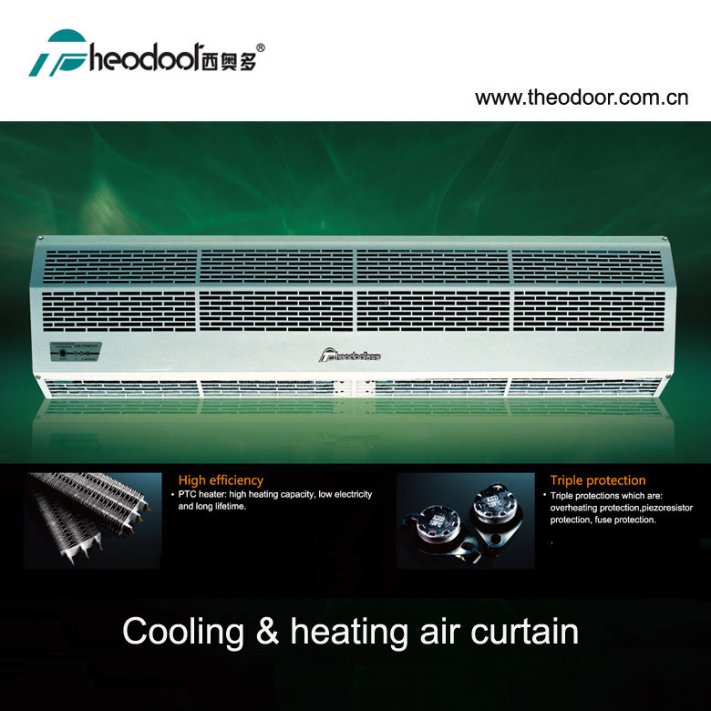 [Hot Item] Electric Heating Element Thermal Air Curtain Over Door Heater