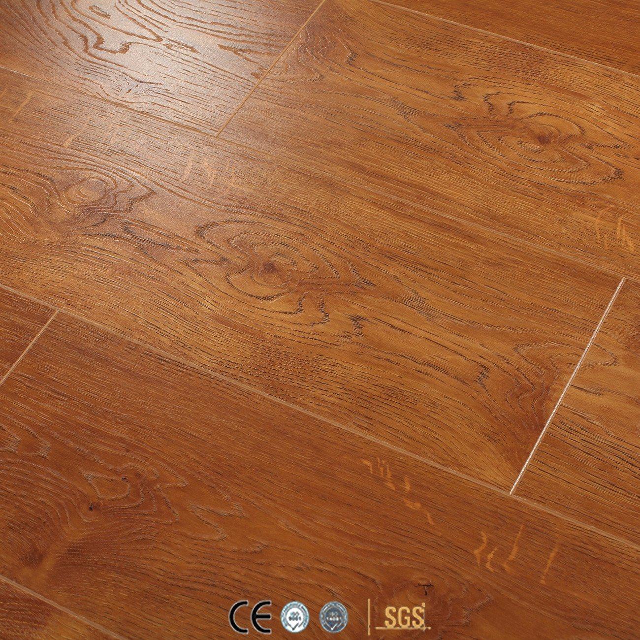China 12mm Eir Oak Ac4 E1 Hdf Wood Wooden Vinyl Laminate Laminated Flooring Floor