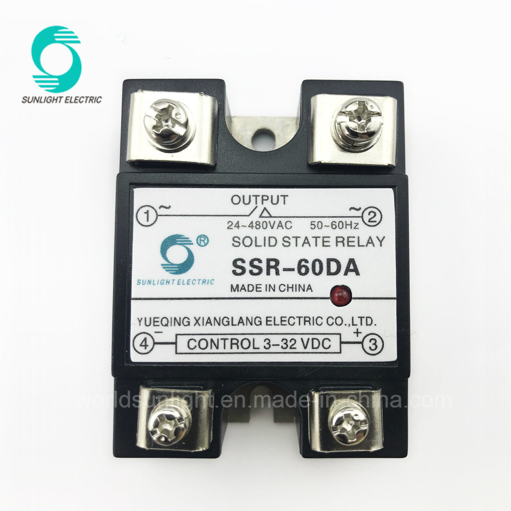 China Ssr 60da General Purpose Dc To Ac Mini Solid State Relay There Are Relays And