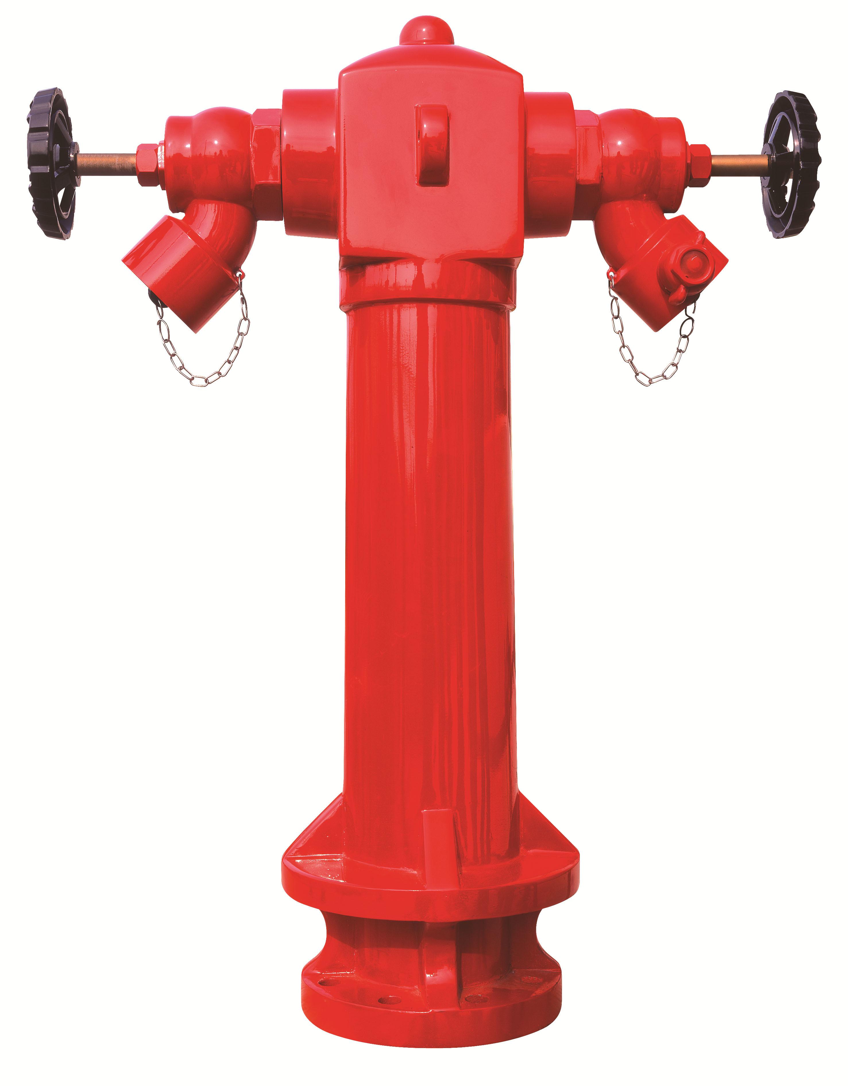 china high quality wet barrel pillar ground fire hydrant 2 ways