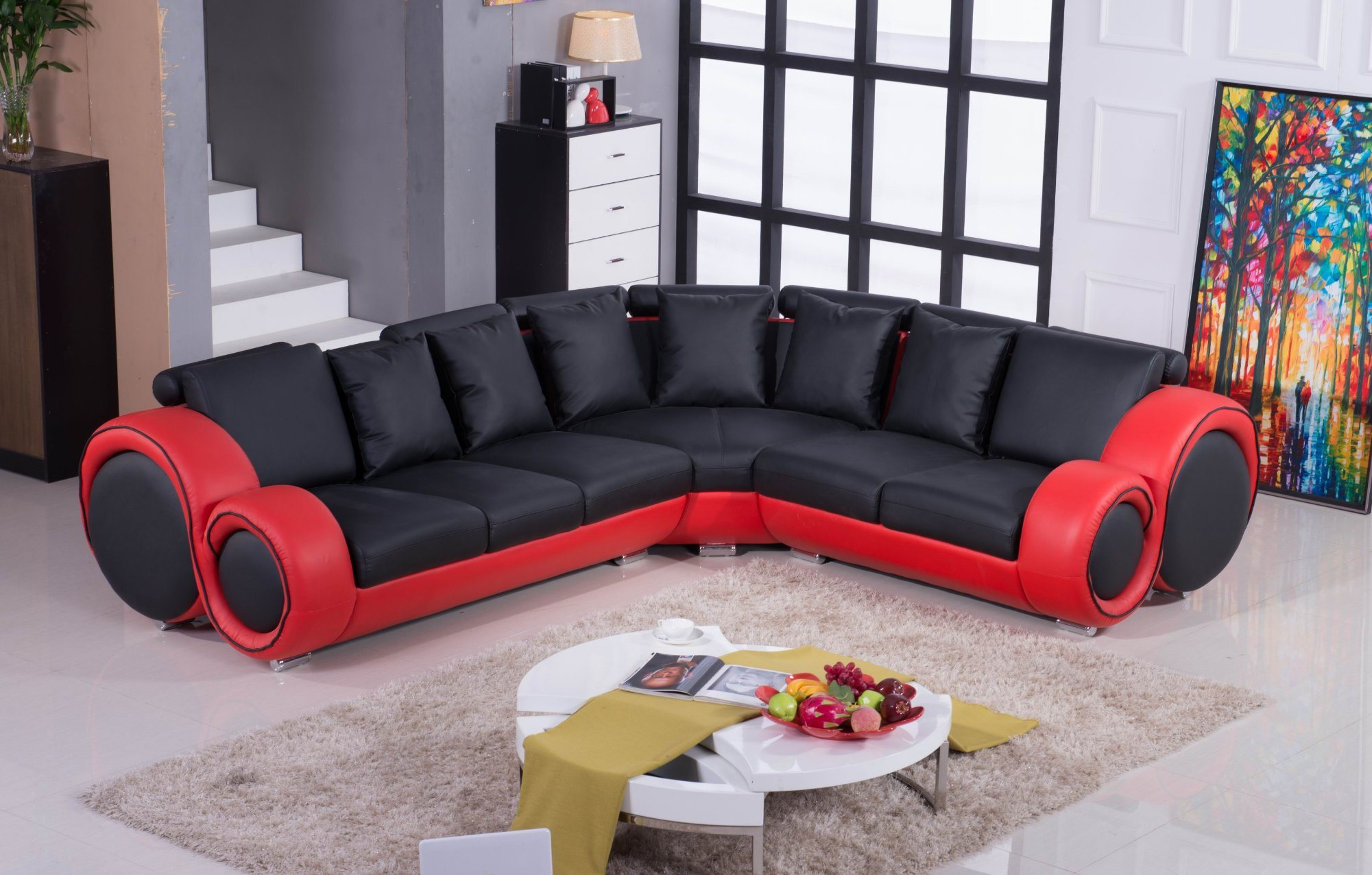 Style Modern Latest Design Leather Sofa