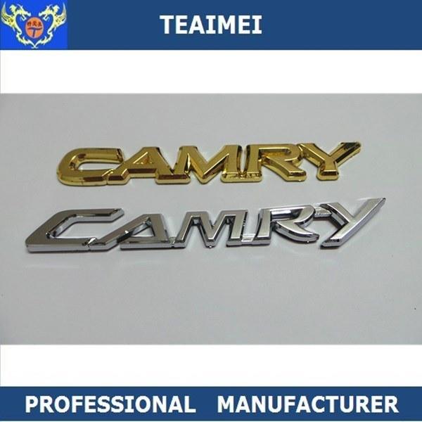 [Hot Item] Custom ABS Car Logo Chrome Letter Sticker Car Emblems Badges