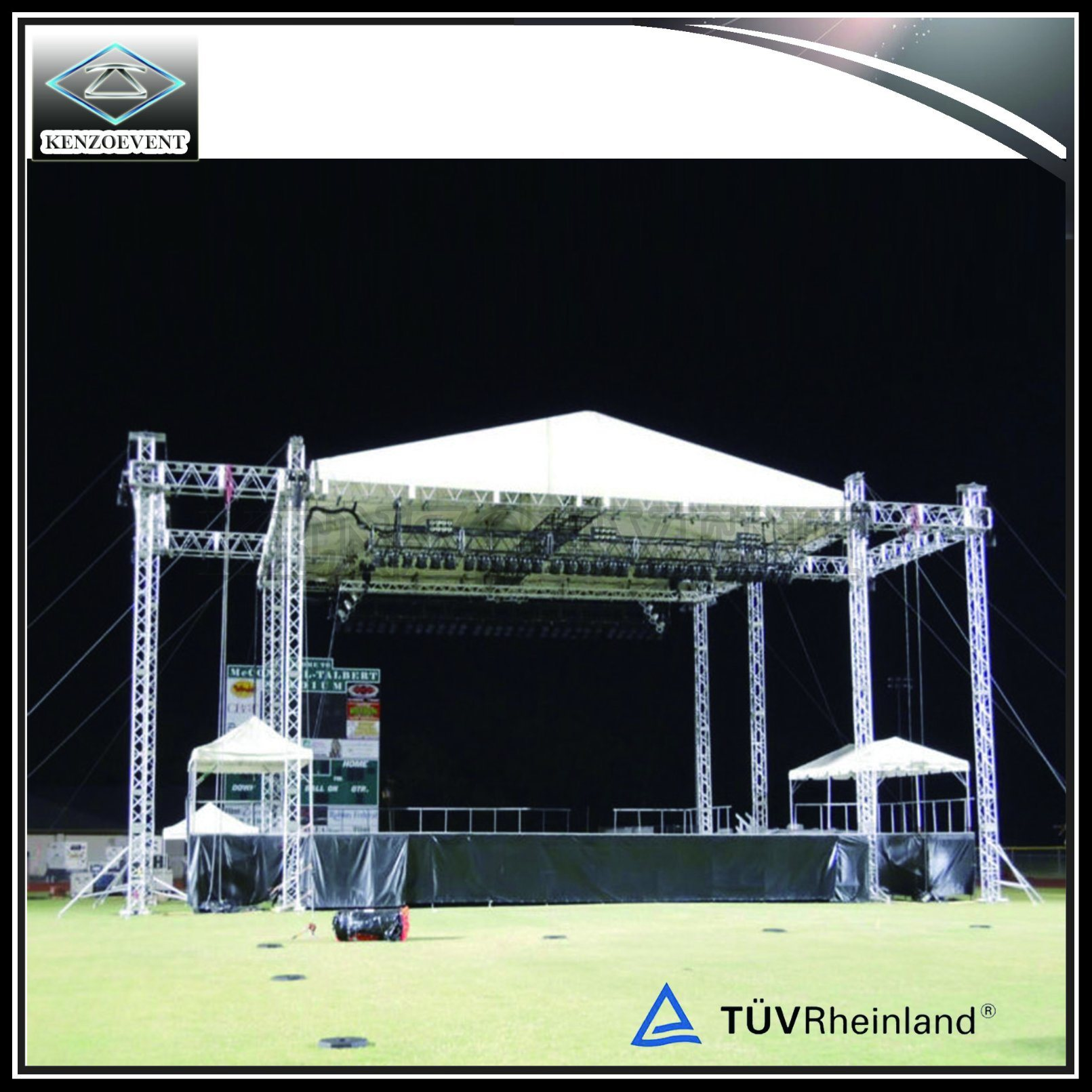 China Speaker Truss Ground Support Truss Roof for Show