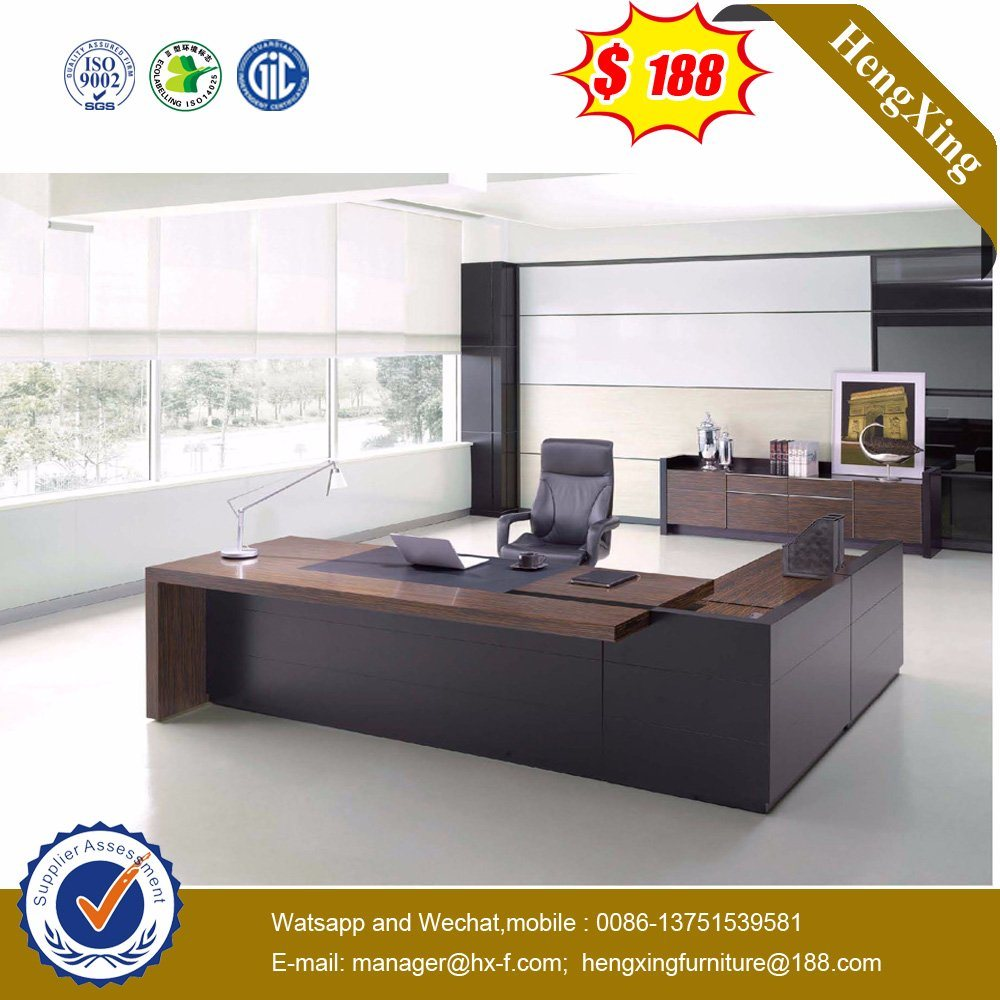 Factory Price PVC Edge Banding Cherry Color Executive Desk (HX-ND5072) pictures & photos