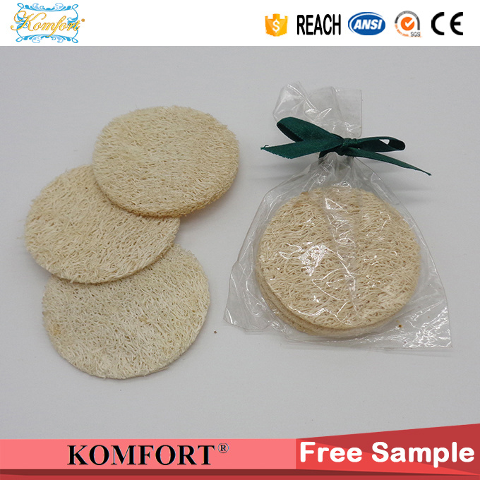 Natural Loofah Disposable Loofah Bath Pad Sponge Wholesale Klb-075 pictures & photos