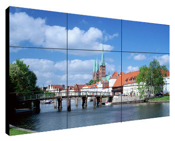 46inch Video Display for Joint Video Wall with 7.9mm Bezel P4679
