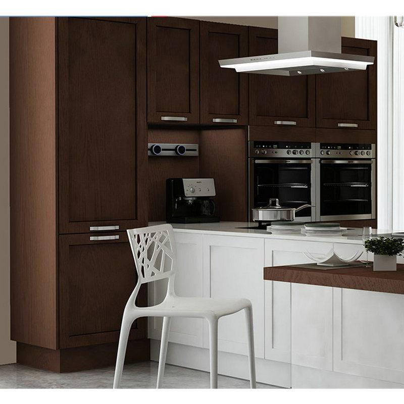 [Hot Item] Simple Design Wooden Commercial Kitchen Cabinet