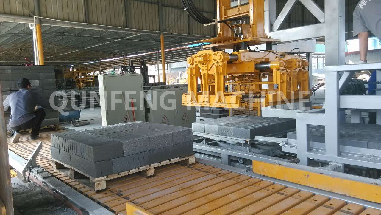 Fully -Automatic Brick /Block /Paver Making Machine