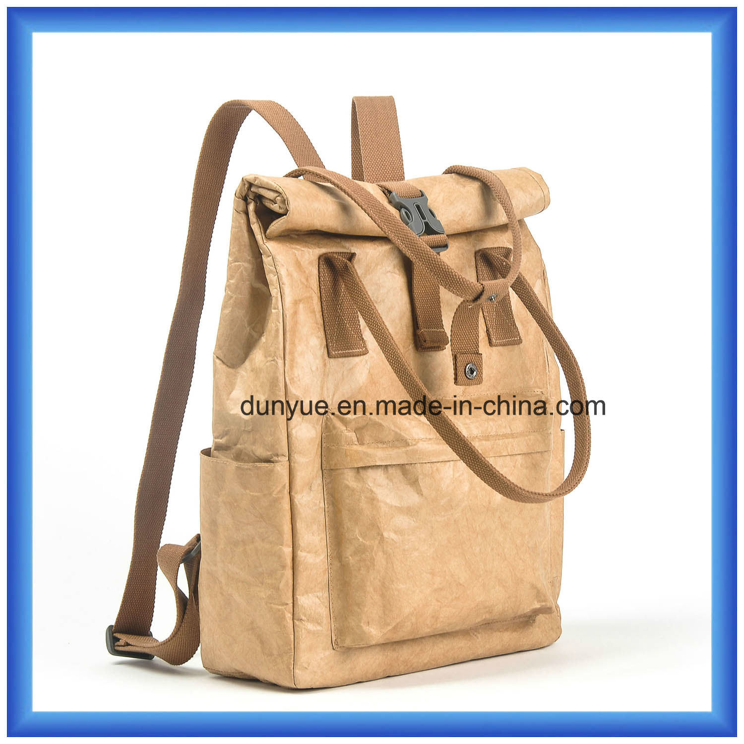 4d42143a85e4 China Young Design Customized DuPont Paper Casual School Backpack ...