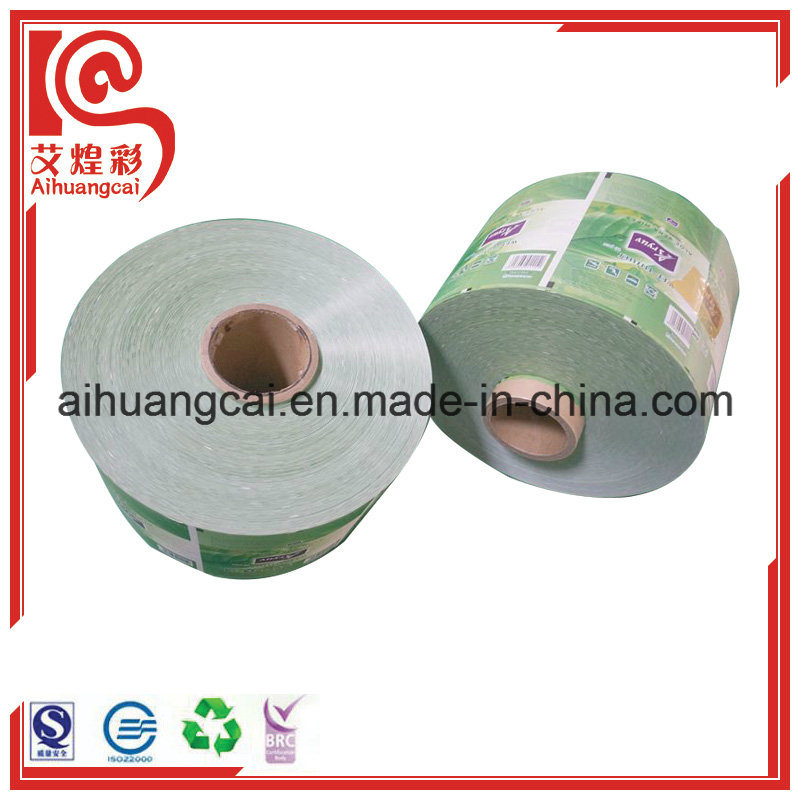 Plastic Automatic Electronic Magic Tracing Film Rolls for Food Packaging