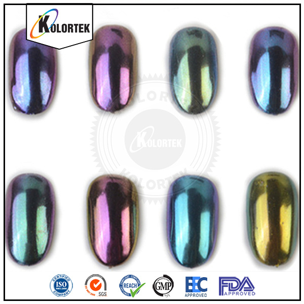 Chrome Chameleon Color Changing Pigment for Nail Polish