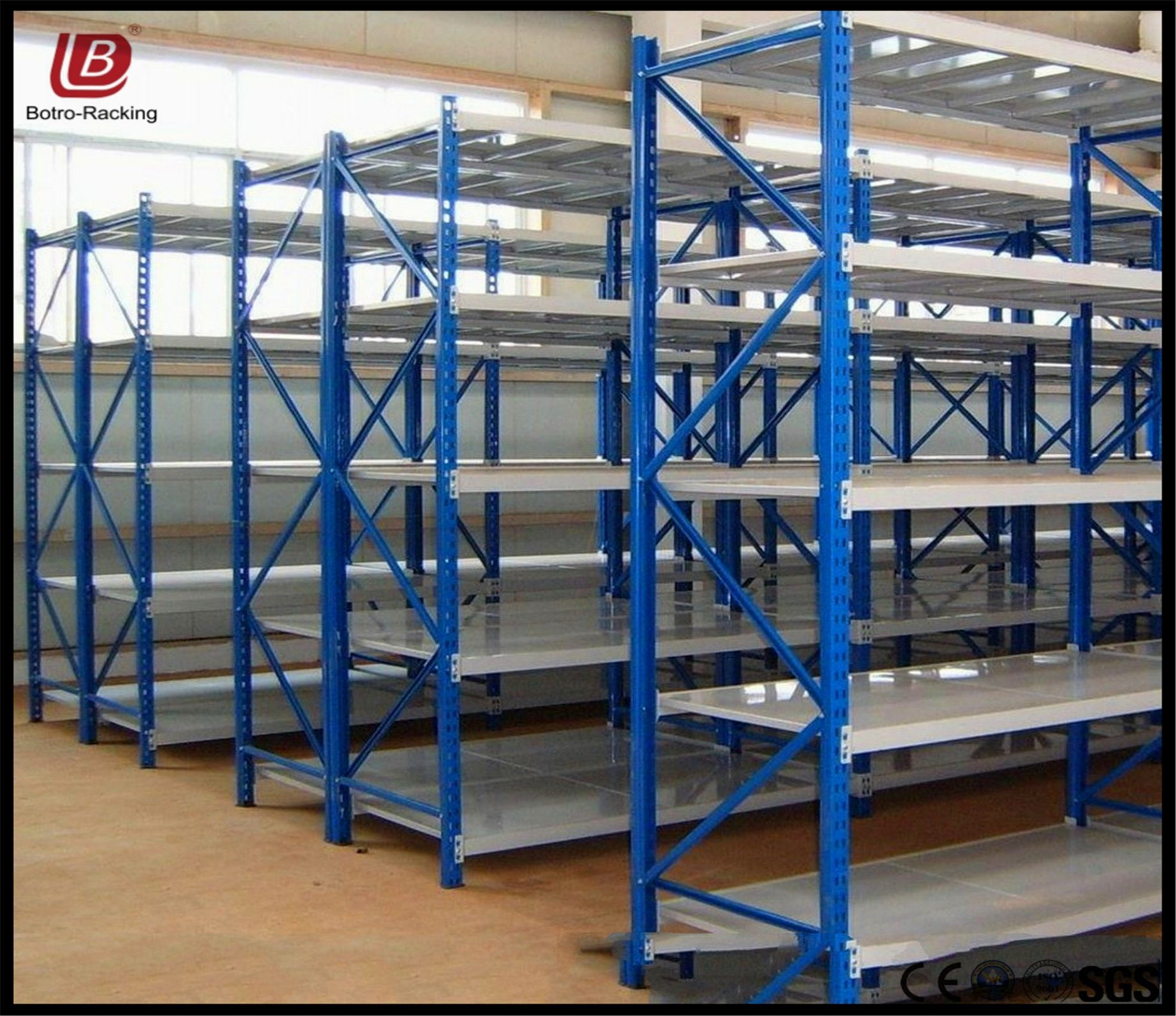 Hot Item Metal Shelving System Heavy Duty Warehouse Goods Storage Rack